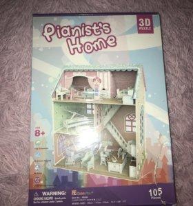 3D Puzzle дом