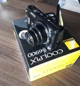 Фотоаппарат Nikon Coolpix S6900+Wi-Fi+Селфи