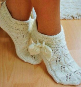 Носки ,ручная вязка