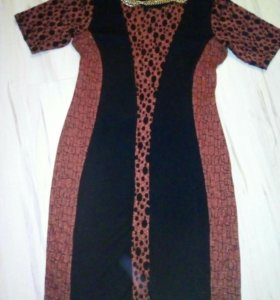 Платье 50р-р трикотаж