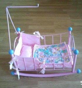 Кровать кукольная