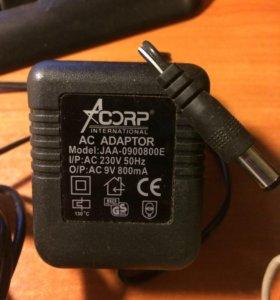 Адаптор, зарядное устройство