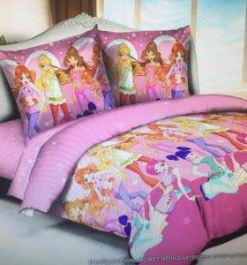 Детская постель из поплина