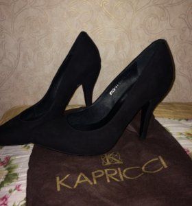 Замшевые туфли KAPRICCI
