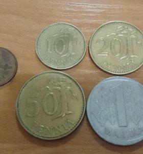Набор Монет Финляндии.