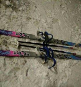 Лыжи от2-4 лет