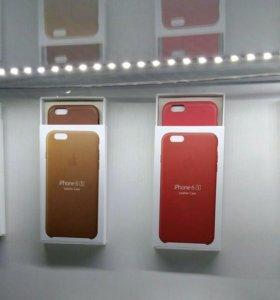 Кожаные чехлы для iphone 6/6s