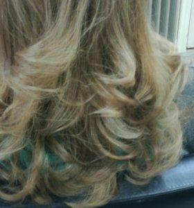 Окрашивание и стрижка волос любой сложности