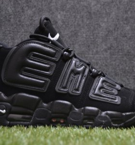 Nike air uptempo x supreme black