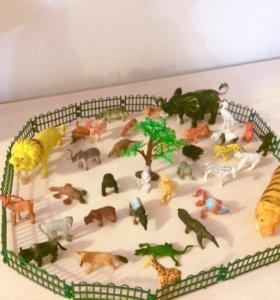 Набор зверинец зоопарк