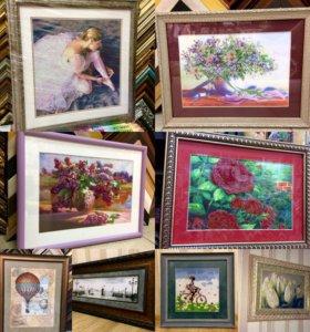 Рамки для вышивки,картины,фото,зеркала и др.