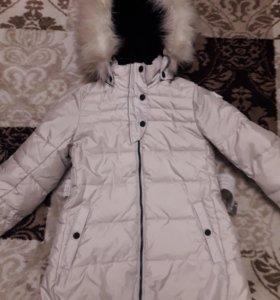 Пальто фирмы Рейма зима 128+6