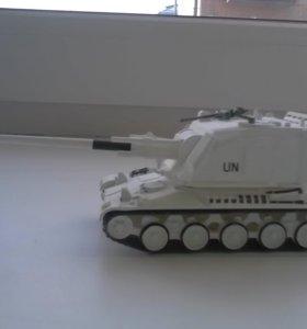 Русские танки (журнал + модель)