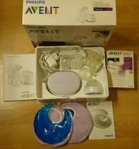 Молокоотсос Avent электронный + подарки