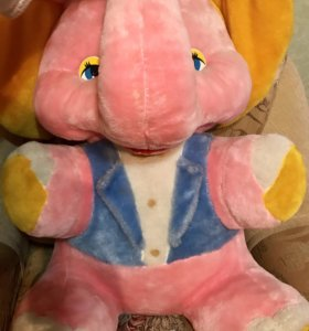 Мягкая игрушка большая большой слон игрушка мягкая