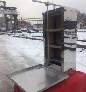 Аппарат для шаурмы на углях