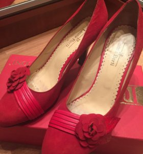 Замшевые туфли Laura Berti