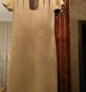 Платье Италия с люрексом новое