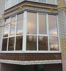 Тонировка окон, балконов, лоджий солнцезащитной пл