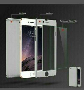Чехол-накладка с бронёй для iphone