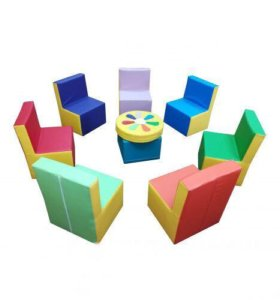 Набор детской мебели Семицветик