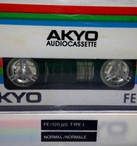 Аудиокассета AKYO FE90(1991г.)