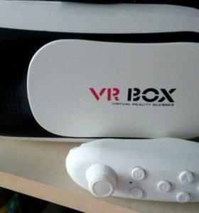 VR BOX с джостиком