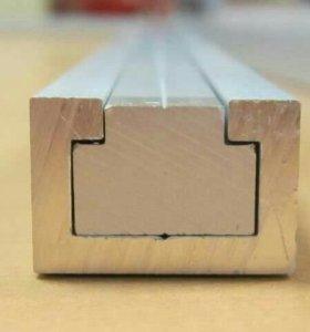 Профиль для фрезерных столов. T-track . С-профиль