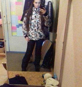 Зимняя куртка ❄⛄🌌🏂🎿