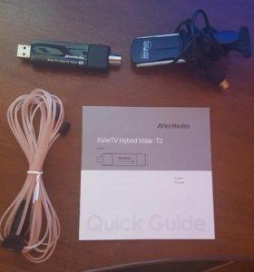 Внешний ТВ тюнер AVerTV Hybrid Volar T2 DVB-T2/T