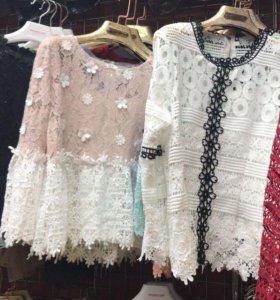 Туники платья
