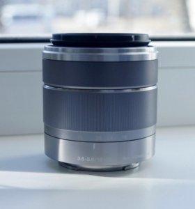 Объектив Sony E 18-55mm f/3.5-5.6 E OSS (Sony NEX)