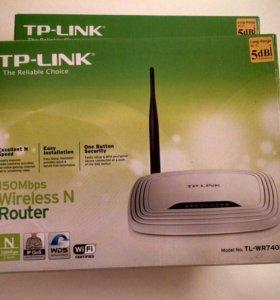Wi-Fi роутеры TP-LINK TL-WR740N