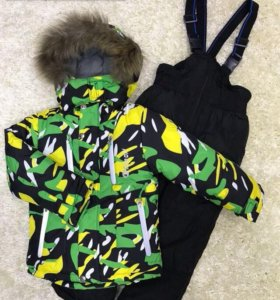 Зимний костюм новый для мальчика