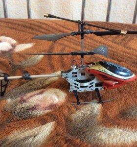 Вертолёт на пальте управления