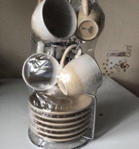 Сервиз кофейный новый