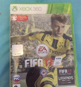 Игра фифа 17 на Xbox 360