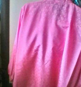 Блуза женская новая из натурального шелка