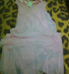 Вечернее платье, шифон, новое