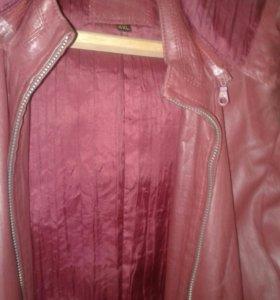 Курточка кожа натуральная