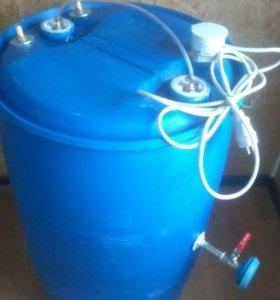 Бочка душ с горячей водой От 20 До 1000л изготовим