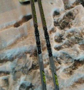 Лыжи беговые 157 см с креплением NNN