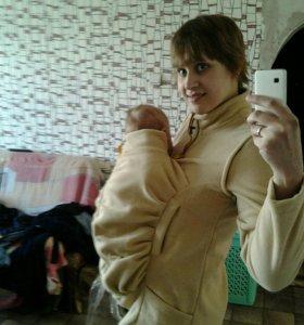 Куртка под слинг
