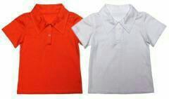Рубашка с воротником поло