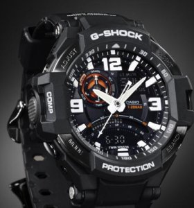 Часы CASIO G-SHOCK GA-1000-1A новые