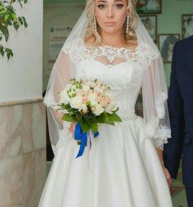 Свадебное платье 46-48