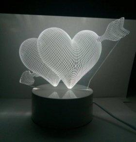 Милые 3D ночники