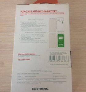 Дополнительный аккумулятор 2500 mAh Galaxy S5mini