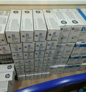Оригинальные Картриджи HP Xerox Samsung