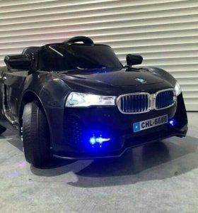 Электромобиль BMW I8 Black Новый!